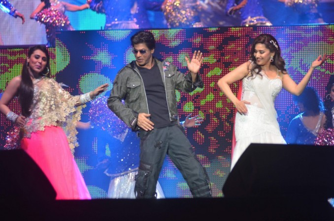 Rani Mukerji, SRK and Madhuri Dixit-Nene perform for Temptation Reloaded 2014 Malaysia (Varinder Chawla)