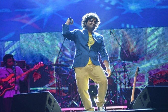 Arijit Singh performs for Temptation Reloaded 2014 Malaysia (Varinder Chawla)