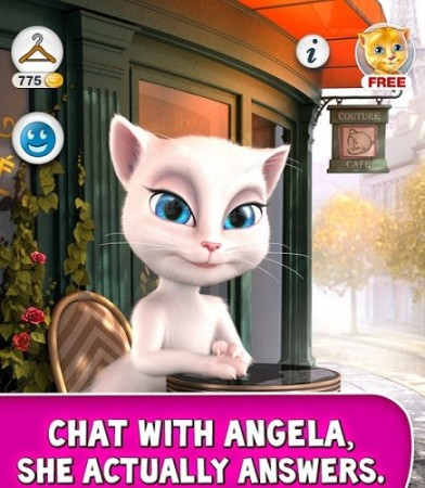 Talking Angela App