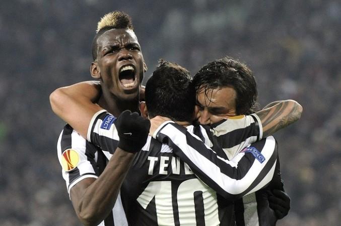 Paul Pogba Pirlo Tevez Juventus