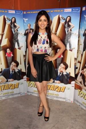 Yami Gautam at promotional Event Of Film Total Siyapaa