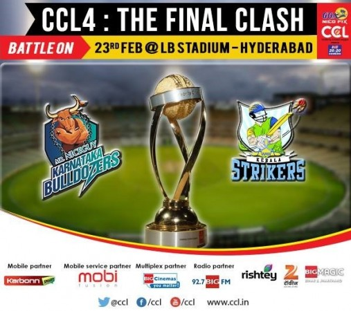 Karnataka Bulldozers Vs Kerala Strikers (Official Celebrity Cricket League Fan Page)