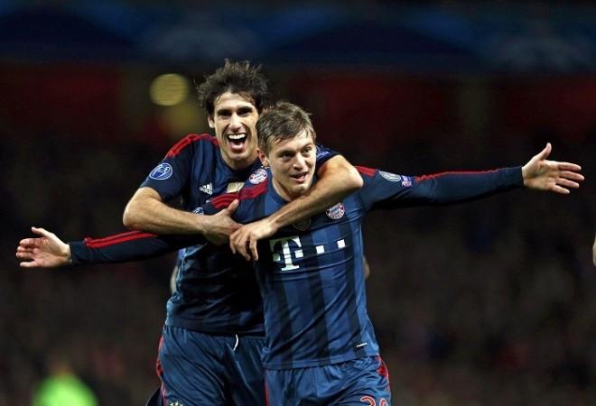 Javi Martinez Toni Kroos Bayern Munich