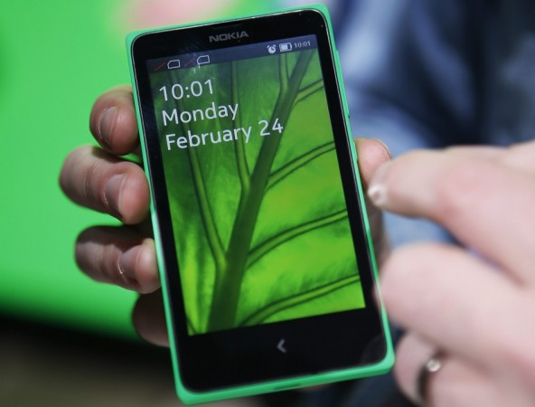 Nokia X Android Smartphone