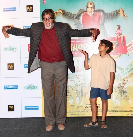 Amitabh Bachchan at the launch trailer of 'Bhoothnath Returns' (Varinder Chawla)