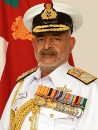Chief of Naval Staff Admiral DK Joshi Resigns/Wikicommons