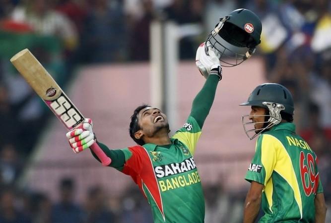 Mushfiqur Rahim Bangladesh Nasir Hossain