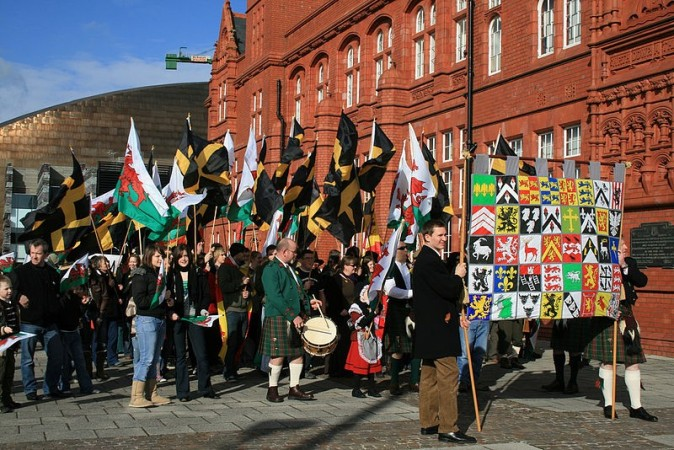 St David's Day Celebrations (Wiki Commons)