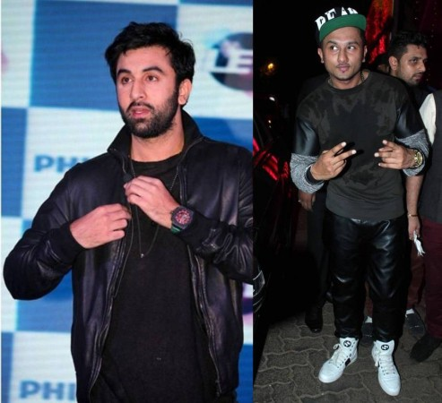 Ranbir Kapoor and Honey Singh