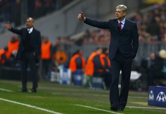 Guardiola Wenger Arsenal Bayern Munich