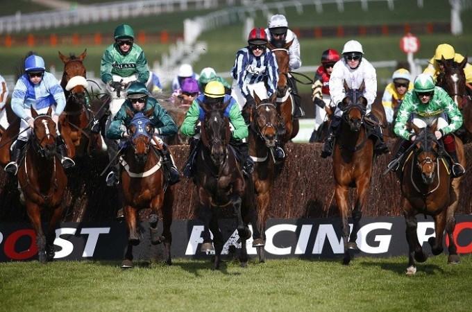 Horse racing Cheltenham Festival Handicap Steeple Chase