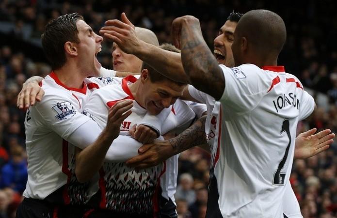Liverpool Gerrard Suarez