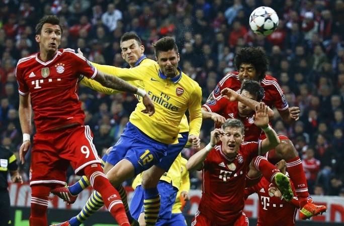 Giroud Mandzukic Arsenal Bayern Munich