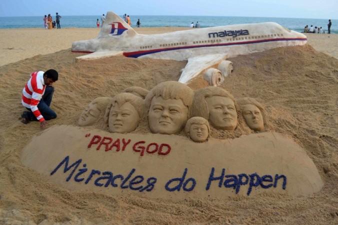 Another Prayer from an artist (Reuters Photo)