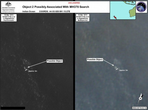 Object 2 possibly Associated with MH370 (Photo AMSA Press Release)