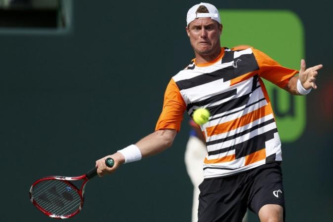 Lleyton Hewitt in Sony Open
