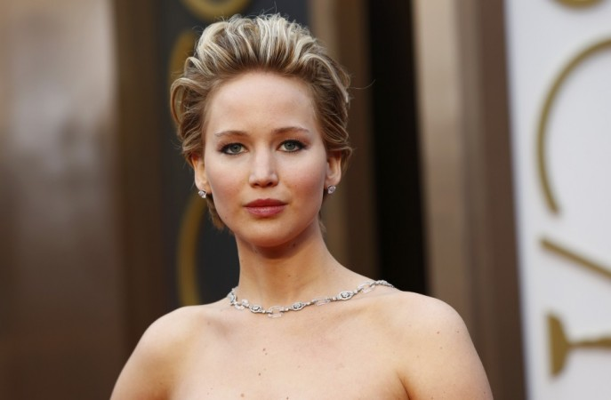 Actress Jennifer Lawrence arrives at the 86th Academy Awards in Hollywood