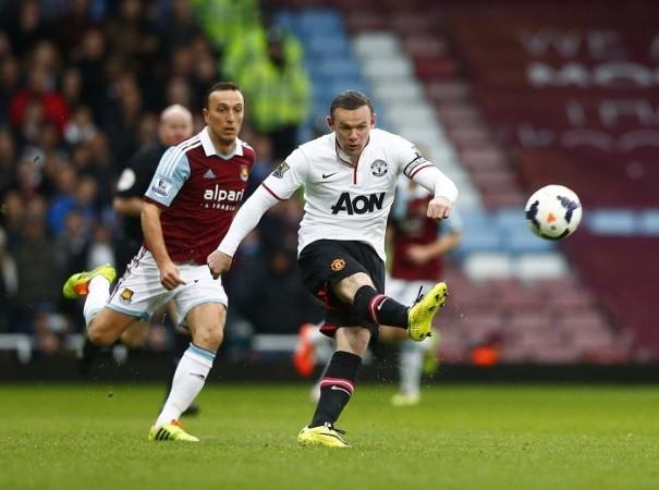 Wayne Rooney Manchester United West Ham