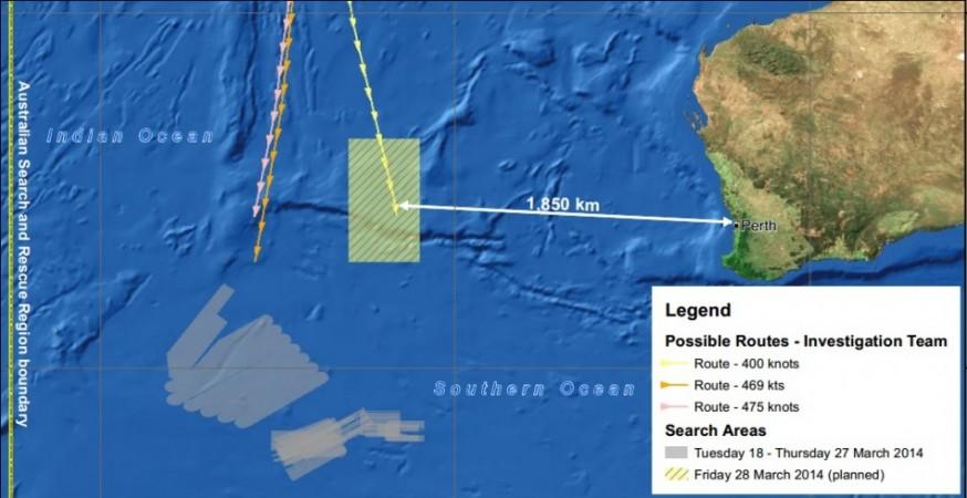 Missing Malaysia Flight MH370