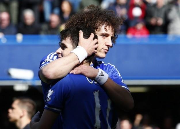 Oscar David Luiz Chelsea