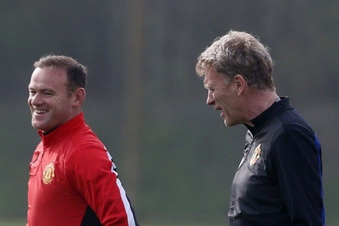 Wayne Rooney David Moyes Manchester United