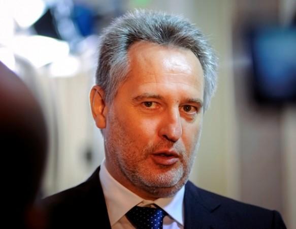 Ukrainian billionaire businessman Dmytro Firtash, the key accused in the corruption case.