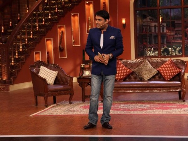 Kapil Sharma in the sets of 'Comedy Nights with Kapil'