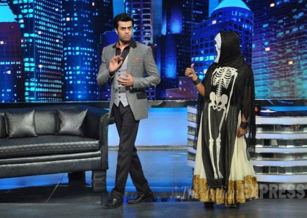 Manish Paul in the show 'Mad in india'