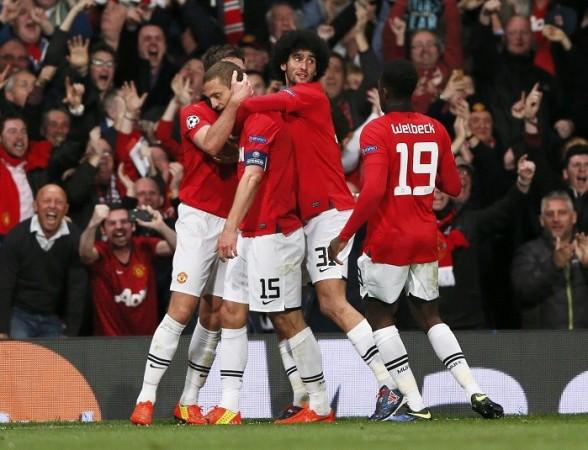 Manchester United Fellaini Vidic