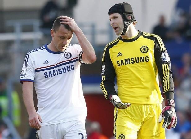 John Terry Petr Cech Chelsea