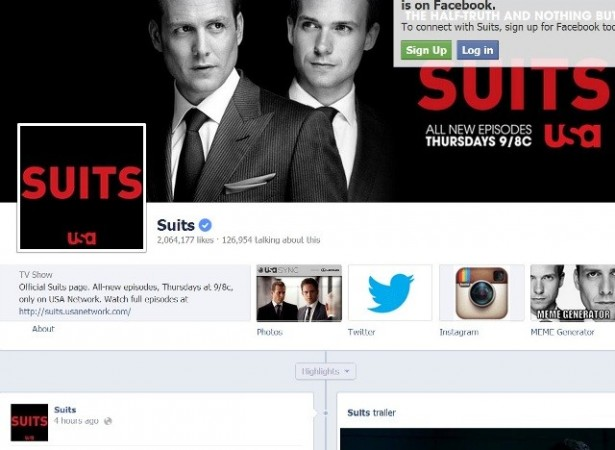 Suits (Photo: Suits/Facebook Screengrab)