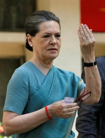 Sonia Gandhi (a file photo)