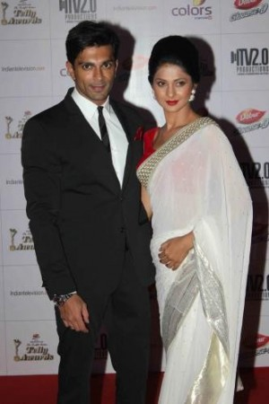 Karan Singh Grover and Jennifer Winget