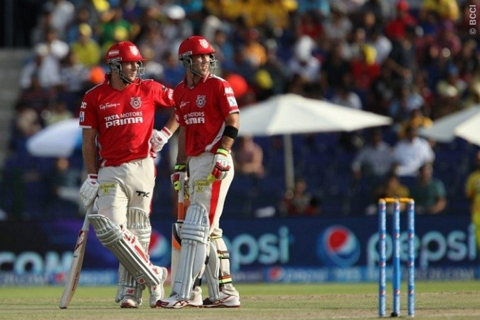 Glenn Maxwell David Miller Kings XI Punjab