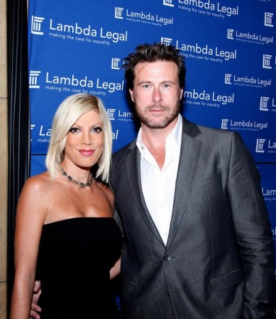 Tori Spelling and Dean McDermott at the 2010 West Coast Liberty Awards (Photo: CreativeCommons/LorenJavier)