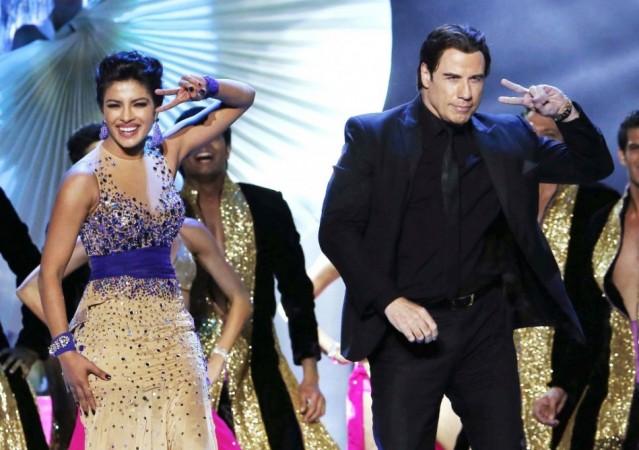 John Travolta and Priyanka Chopra