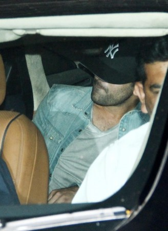 Ranbir at Aamir Khan's residence