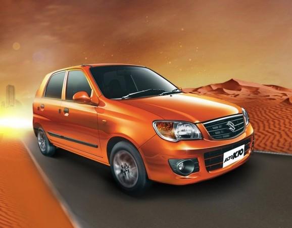 Maruti Suzuki Alto K10 Facelift Spyshots Hit the Web