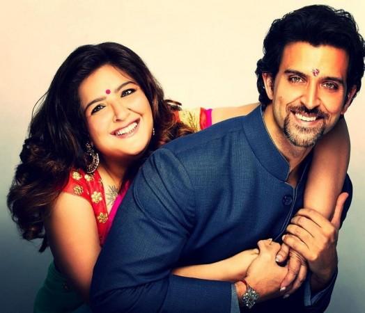 Hrithik Roshan and Sunaina Roshan