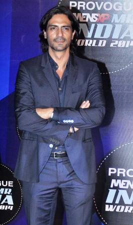 Arjun Rampal judge the first edition of  Provogue MensXP Mr. India 2014 in Mumbai