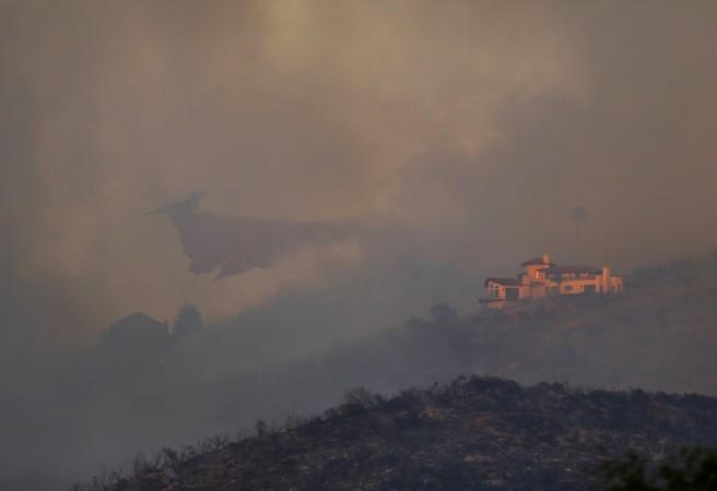 San Diego Wildfire