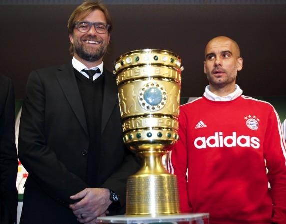 Guardiola Bayern Munich Klopp Borussia Dortmund