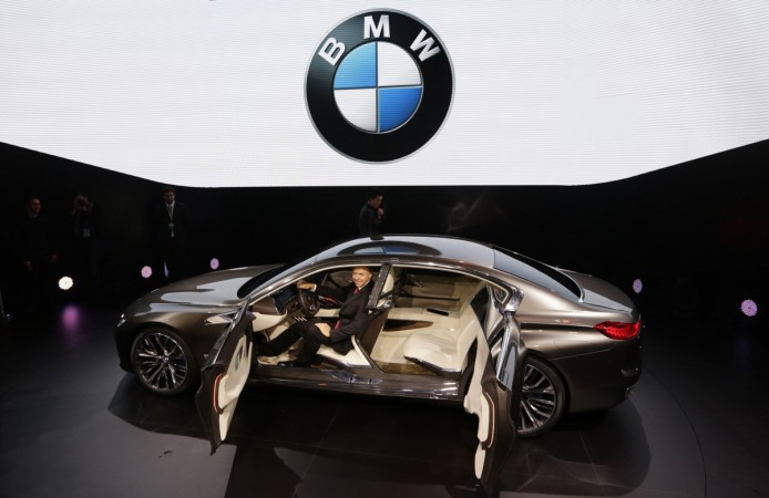 A BMW Vision Future Luxury concept car is displayed at Auto China 2014 in Beijing