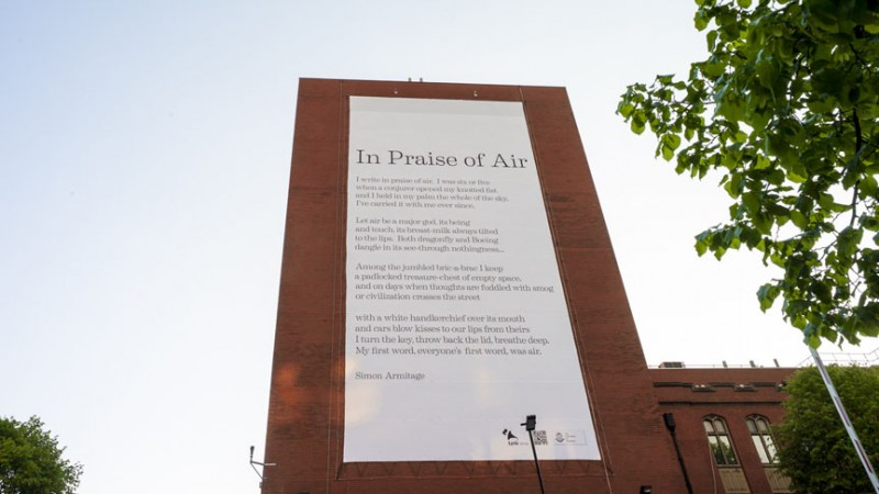 World's First Poem that Purifies Air Pollution Written in UK