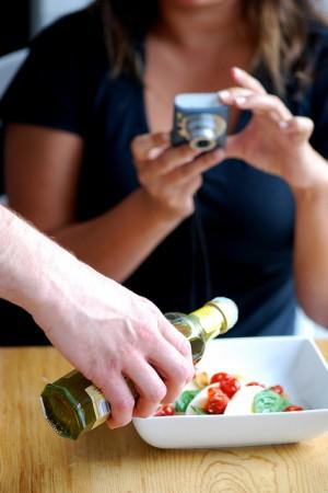 olive oil salad