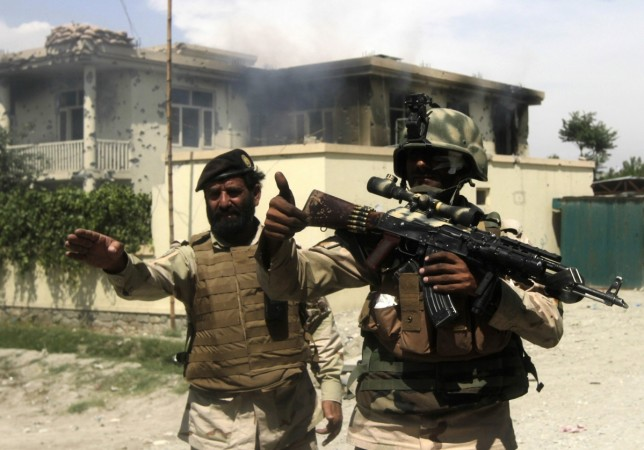 The Indian consulate in the Afghan city of Herat was attached early Friday morning by three gunmen who fired shots from nearby buildings.