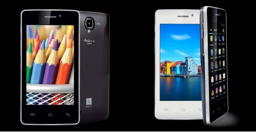 iBall Andi4 IPS Gem, Andi4 IPS Velvet Budget Smartphones Up For Grabs; Price, Availability Details