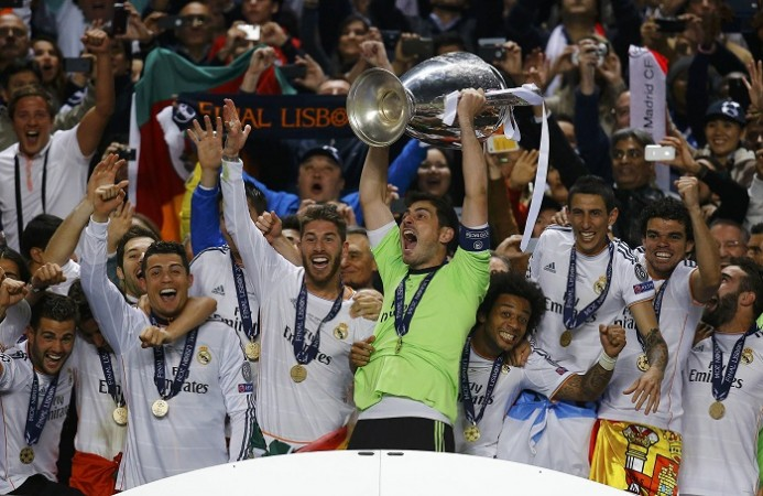 Iker Casillas Real Madrid Champions League Final