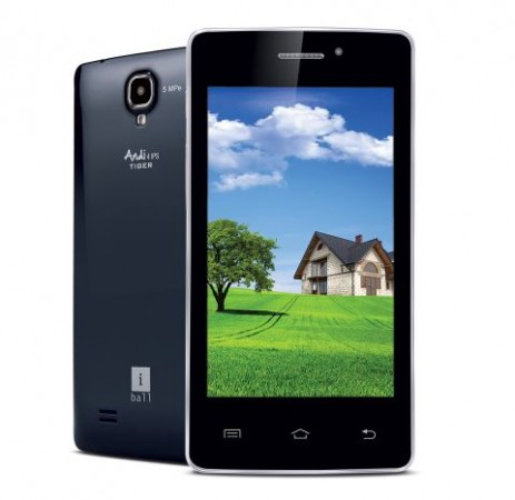 iBall Andi 4 IPS Tiger Budget Quad-core Android Smartphone Launched in India