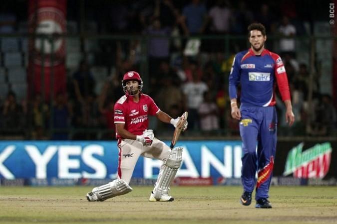 Rishi Dhawan Kings XI Punjab Wayne Parnell Delhi Daredevils